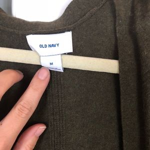 Old Navy Sweaters - Light weight olive green cardigan